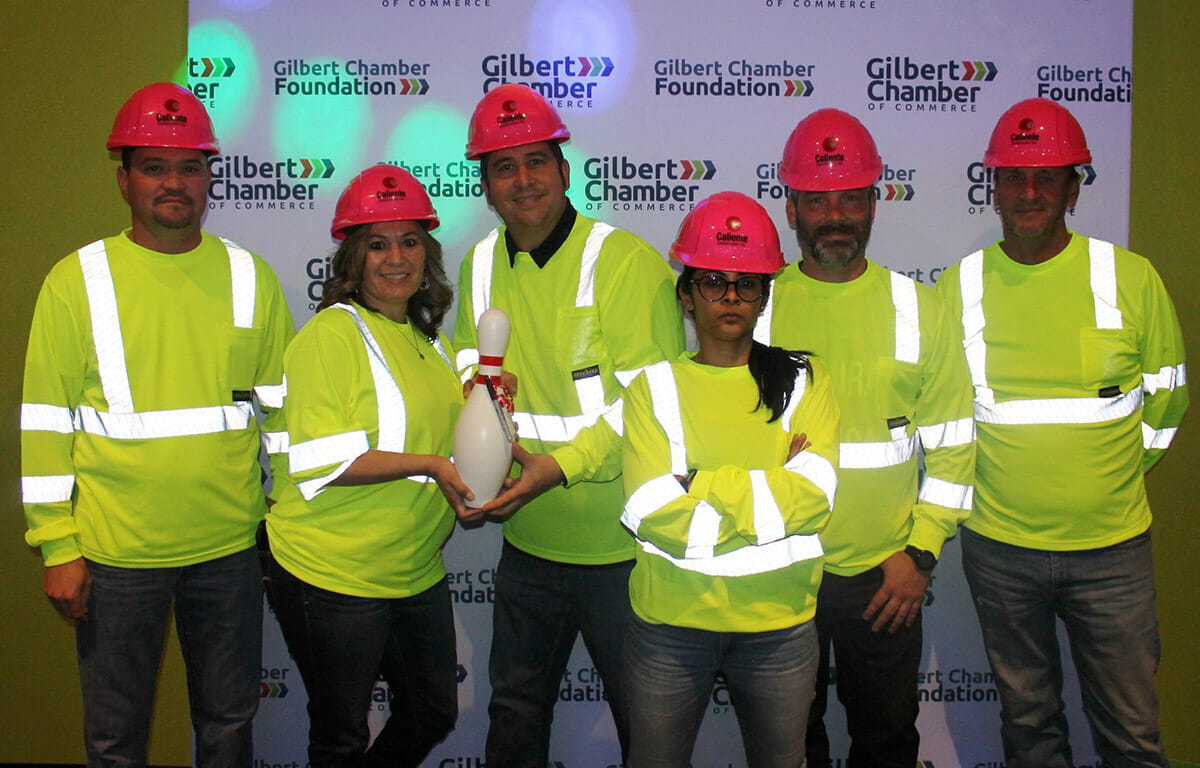 'Bowling for Good' Foundation event with Caliente Construction